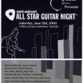 All Star Guitar Night 2008 Line Up