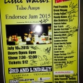 Little Walter Tube Amps Endorsee Jam 2015 - Nashville